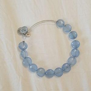 Blue Alex and Ani bracelet!